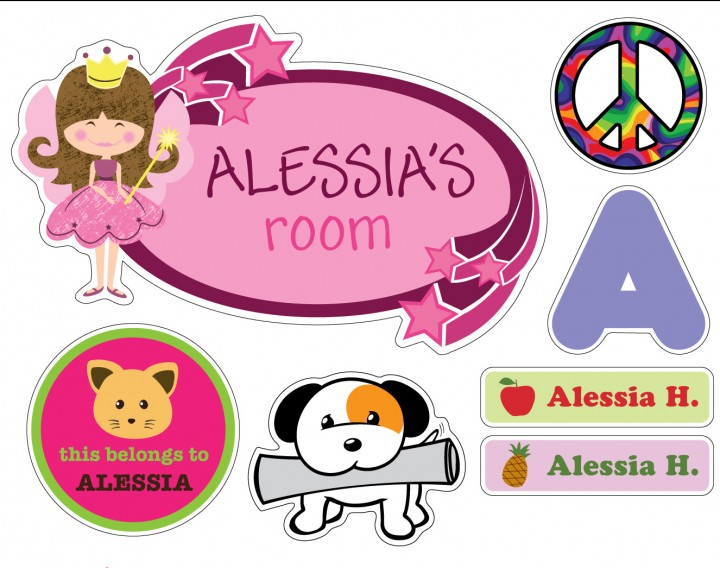 Custom Kids Labels
