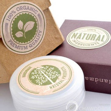 Round Packaging Labels Printing