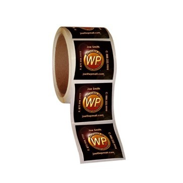 Square Roll Labels Printing