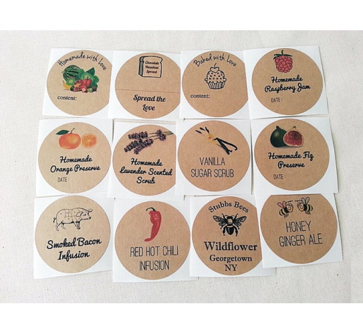 Printable Custom Canning Labels