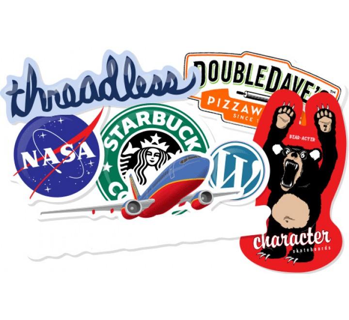 Die Cut Product Labels Printing