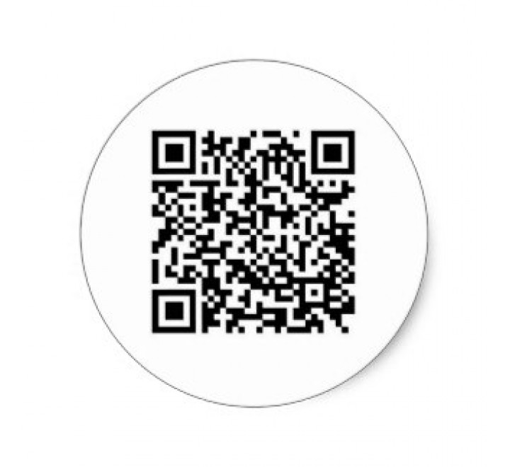 Round Barcode Labels