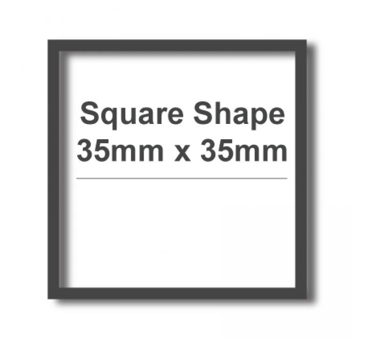 Square Cut Vinyl Transfers Labels