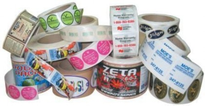 Custom Durable Laminated Labels