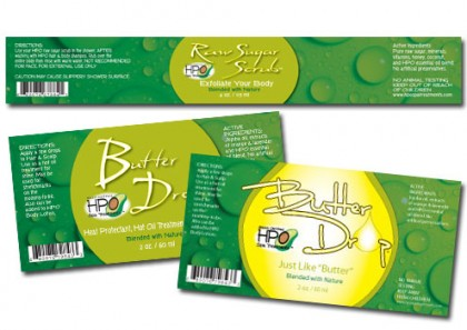 Custom Packaging Labels Printing