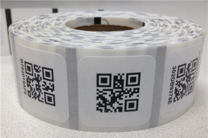 Die Cut Roll Labels Printing