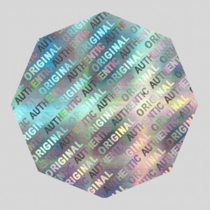 Die Cut 3D Hologram Labels