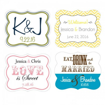 Die Cut Waterproof Labels