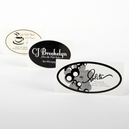 Oval Business Labels