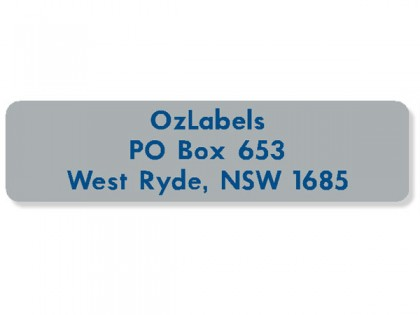 Rectangle Address Labels
