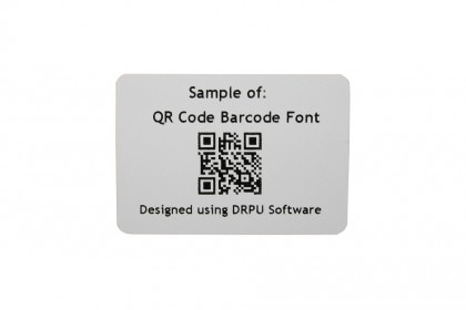 Rectangle Barcode Labels