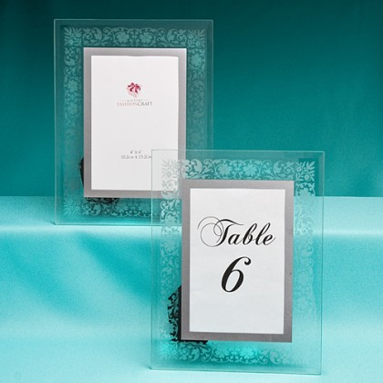 Rectangle Frosted / Etched Labels
