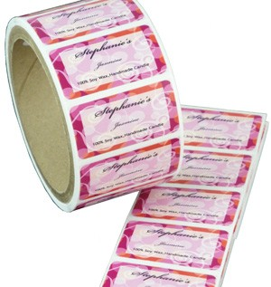 Rectangle Roll Labels Printing
