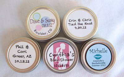 Round Lip Balm Labels