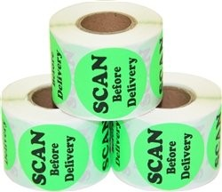 Round Shipping & Mailing Labels
