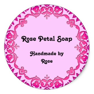Round Soap Labels