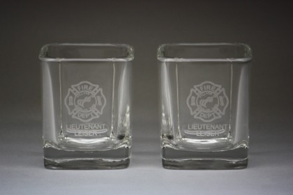 Square Frosted / Etched Labels