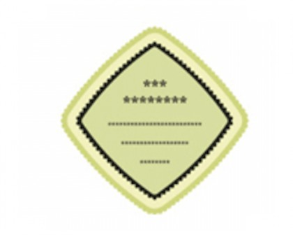 Body Product Square Labels