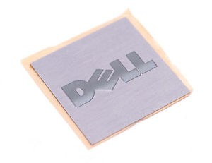 Brushed Aluminium Square Labels