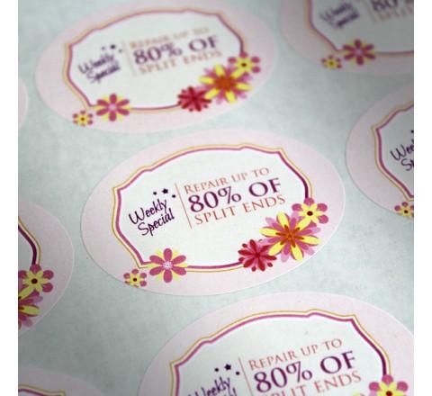 Custom Premium Paper Label Printing