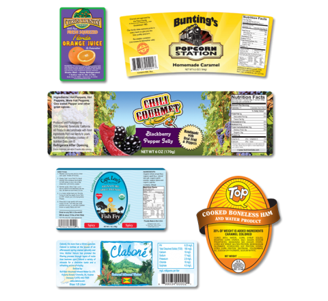 Custom Product Labels Printing