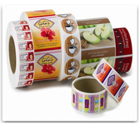 Custom Roll Labels Printing
