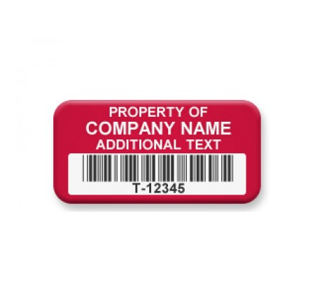 Rectangle Tamper Evident Security Labels