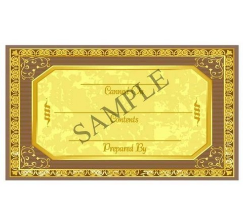 Rectangle Canning Labels