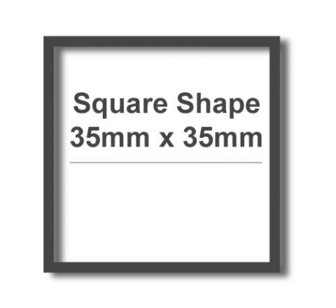 Square Cut Vinyl Transfers Labels