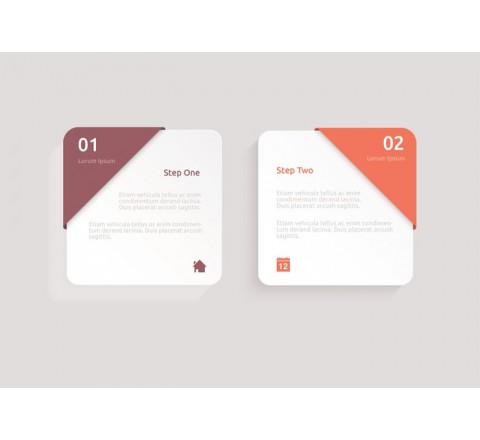 Square Premium Paper Label Printing